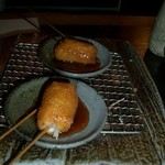 串あそびTO・IRO - コースの〆に出してもらったみたらし、美味しい。