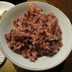 海老泉 - 赤麦ごはん