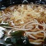 峠の蕎麦 - 料理写真:たぬきそば