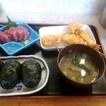 めはり寿司 二代目 - めはり寿司定食 1200円