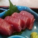 めはり寿司 二代目 - めはり寿司定食の生まぐろ