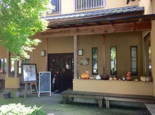 かぼ茶庵 - 店入口