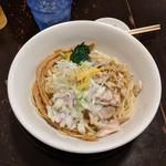 麺の風 祥気 - 塩煮干まぜそば(期間限定)