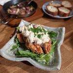 のぉてぃ 和飲 - 阿波尾鶏の南蛮タルタルソースがけ