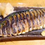 びぃすとろ 汁べゑ - 出来上がった炙りしめ鯖は絶品でした~♪