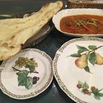 インド料理 ショナ・ルパ - マトン ローガンジョーシュとナン