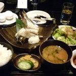 11510473 - 焼き魚定食 小鉢&サラダセット追加で¥800-