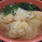 香港粥麺専家 - 海老雲呑(わんたん)麺