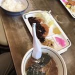 絵夢 - 料理写真:とんかつ定食