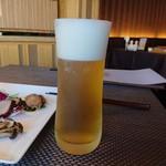 中国料理 青冥 - 生ビール(720円)