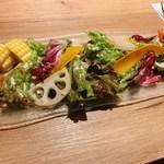 洋食&ワイン イル カトラ グリル - サラダ