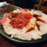 焼肉TABLEさんたま - すんごい脂まみれ! 太ることなんて気にしちゃいられない(笑)