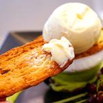 うなぎパイカフェ - アイスクリームとの相性バツグン♪