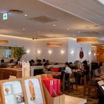 うなぎパイカフェ - 建物内にはうなぎパイのカフェも。