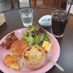 ランチカフェ ハッチ - 料理写真:本日のモーニングセット 600円(税込)