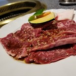 肉の割烹 田村 - 牛サガリ