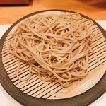 沢庵 - 料理写真:安曇野の蕎麦