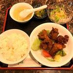 蘭蘭酒家 - 鶏肉の唐揚げ~スパイシーカレー風味