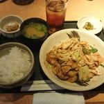 115109181 - 回鍋肉定食¥850-