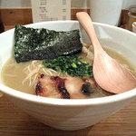 鶏ポタ ラーメン THANK - ラーメンぽてり(旧 鶏ポタラーメン特濃)