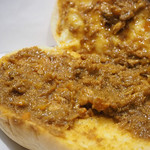 パンの田島 - コッペパン(キーマカレー炙りチーズ)