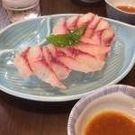 橋本食堂 - 是非食べて!鯉のあらい!