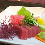 馬上豊寿司 - 料理写真:鮪刺し盛り(特注)