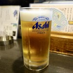 115114843 - [2019/08]生ビール大(950円)