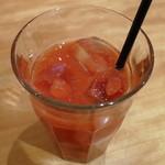 ブーランジェリー ブルディガラ - ブラッドオレンジ(ケーキセットでオーダー、2012年2月)