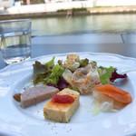ボーン グランデ アリア - 前菜3種盛り合わせ