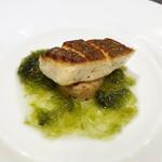 115122711 -                        魚料理                       旬魚のナージュ仕立て