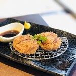 牛タン専門×ユッケ寿司 全席個室居酒屋 うま囲 - メンチカツ