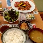 あおぞら - 【2019.9.8(日)】上州定食1,810円