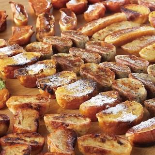 期間限定でフレンチトーストがパン食べ放題に仲間入り♪