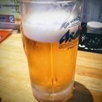 悟空 - 生ビール!まずはこれでしょう!