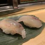 仙令鮨 - こち、ほうぼう