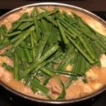 115133901 - もつ鍋(味噌味)