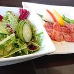 竹屋牛肉店 - 焼肉カルビランチ