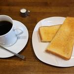 喫茶コケシ - モーニング(全体)