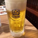 115137751 - 生ビールはサッポロクラシックです