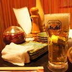 小倉優子 - 生ビール