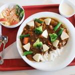 シオン - 料理写真:マスターのおまかせカレー