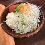 A-Zスーパーセンター フードコート・レストラン - ミニサラダ 150円