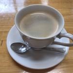 石挽き蕎麦 庵 - コーヒー¥200