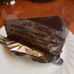 フィリップス ガーデン カフェ  - チョコレートケーキ