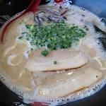 久留米ラーメン 玄竜 - 魚介豚骨ラーメン
