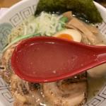 ガラ喰楽学校 - あっさりコクがあるスープ
