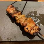 焼とりの八兵衛 - 豚バラ味噌焼き