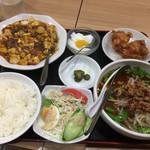 115146824 - 麻婆豆腐定食920円
