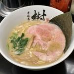芳醇煮干 麺屋 樹 - 芳醇煮干しラーメン(680円)